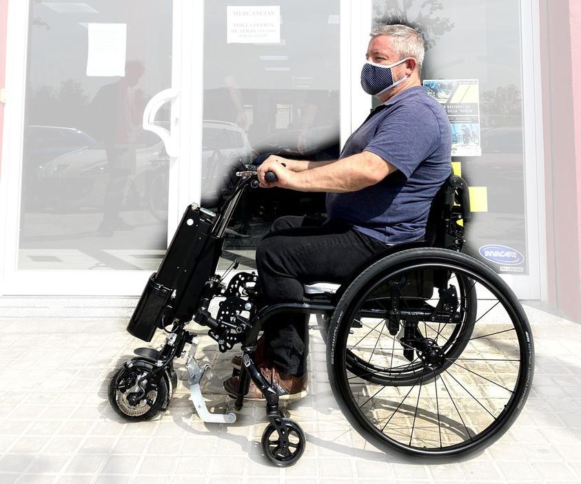 Posicionamiento en silla manual - Rodem
