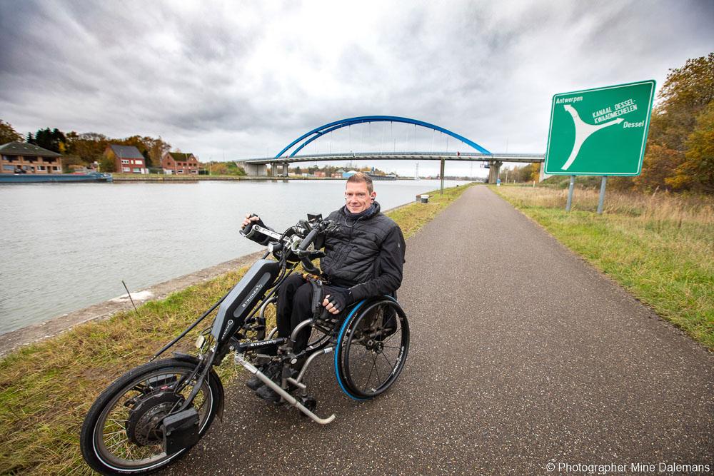 Portada, Sven Ongenae - Neodrives Stricker Handbike