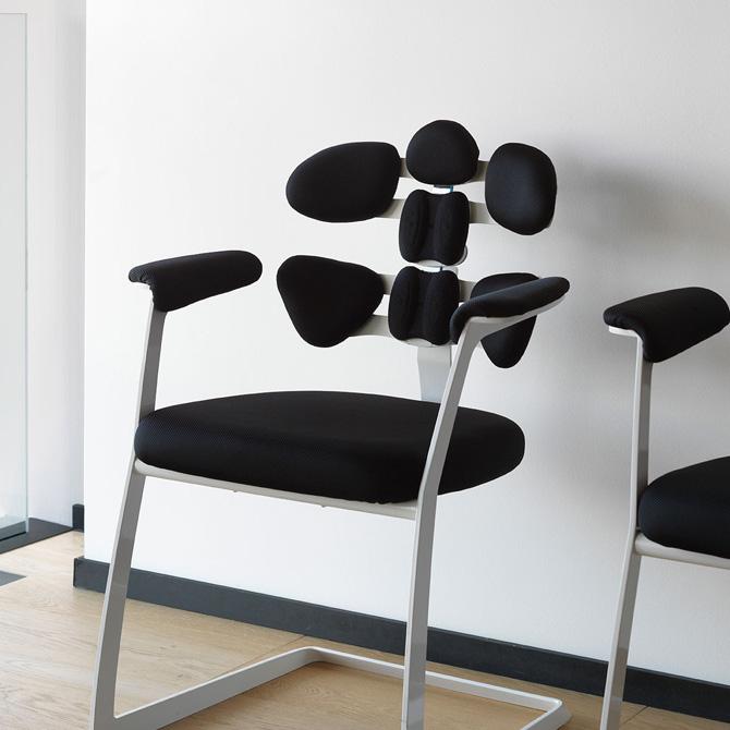 Respaldos posturales Tarta - Múltiples usos (sala de espera)