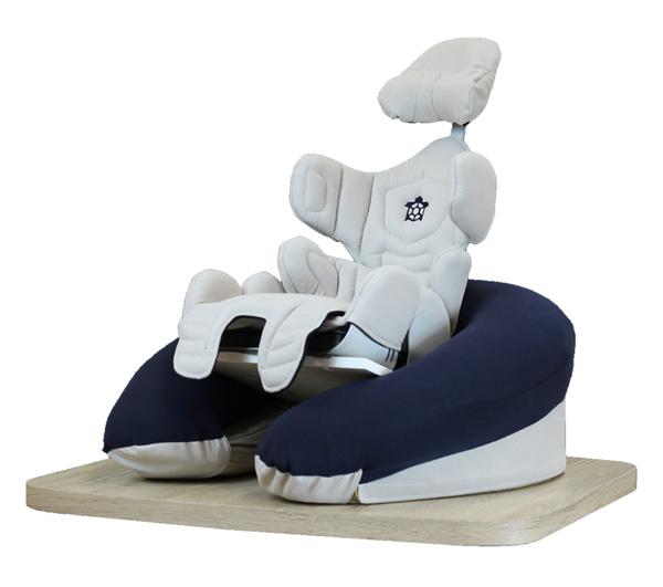 Respaldo postural Tarta Kids - Almohada en forma de U con sujección.