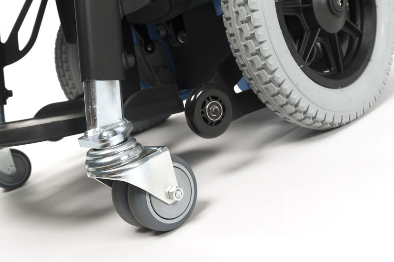 Navix SU detail front wheels